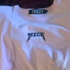 """Genuine Yeezy """"Yeezus"""" Pink T-Shirt"""